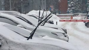 Уход за машиной зимой